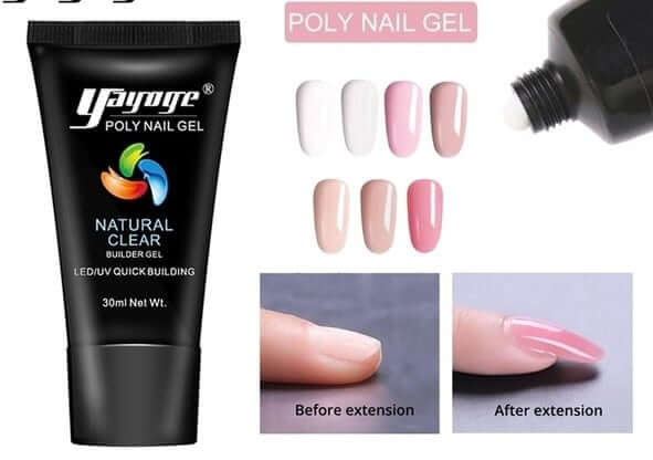 what is acrygel nail extension types what is the difference