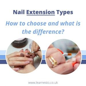 nail extension types acrylic hard gel what is the difference how to chose polygel acrygel